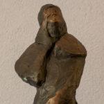 Vrouw van Lot in brons